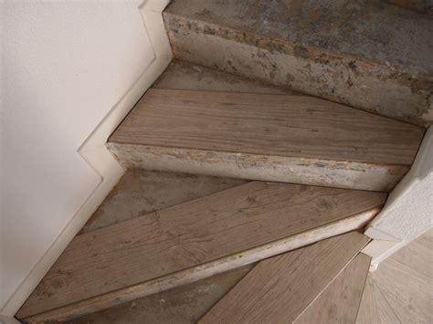 rajeunir un escalier en bois poser du parquet flottant sur un escalier lesbricoleursdebutants overblog