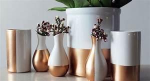 Deco Cuivre Rose : diy c ramique et cuivre floriane lemari ~ Zukunftsfamilie.com Idées de Décoration
