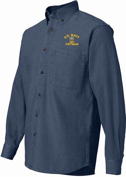 Navy Vietnam Shirt Denim