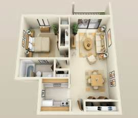 Simple Houses Bedroom Placement by 1 Bedroom Apartment House Plans