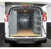 Portland Van Shelving Ladder Racks & Interiors