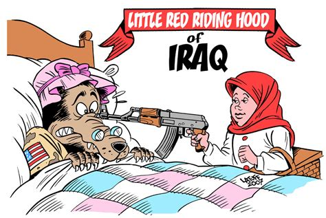 Little Red Riding Hood Of Iraq By Latuff2 On Deviantart