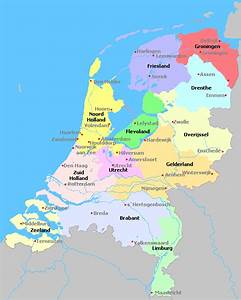 Northern Netherlands Map