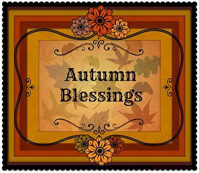Blessings Autumn Fall Inspirations Fabulous Yours