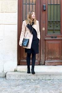 manteau beige blog mode la penderie de chloe With robe fourreau combiné avec bracelet hipanema bordeaux