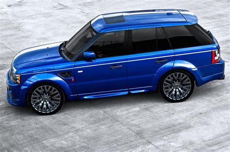 range rover sport blue bali blue range rover sport rs300 by kahn autoevolution