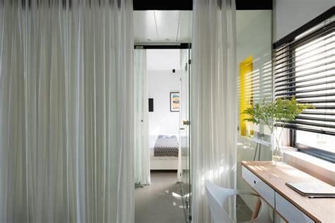 square foot apartment  glass walls  create  bedrooms idesignarch interior