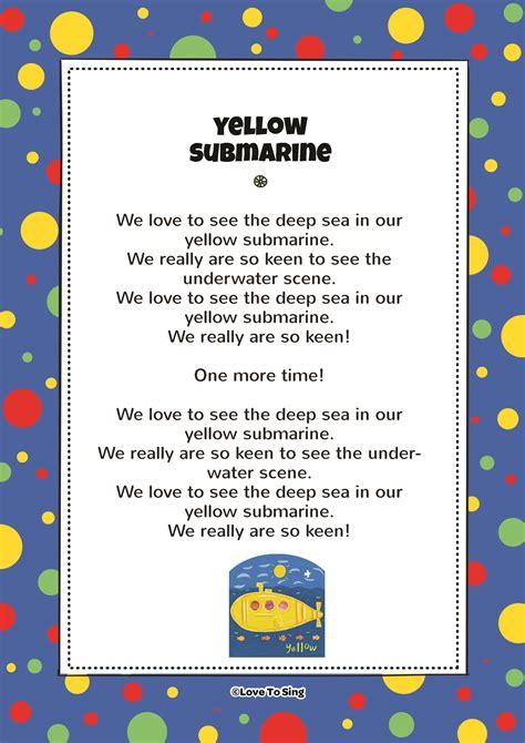 friends in a yellow submarine free song amp lyrics 327   Yellow Submarine JPEG