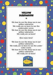 Friends In A Yellow Submarine | FREE Video Song & Lyrics