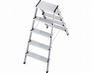 Hailo Leiter 8 Stufen : doppelstufenleiter alu hailo l90 2x5 stufen bei hornbach kaufen ~ Buech-reservation.com Haus und Dekorationen