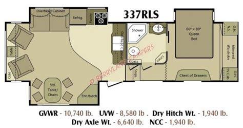 2011 open range rv floor plans open range 337rls print this page stock no n004786