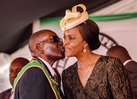 grace mugabe granted diplomatic immunity  model