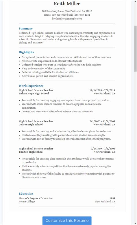 You can use this space to create other sections that highlight how awesome you 2 no work experience resume samples. Resume For Teacher Job Without Experience - Best Resume ...