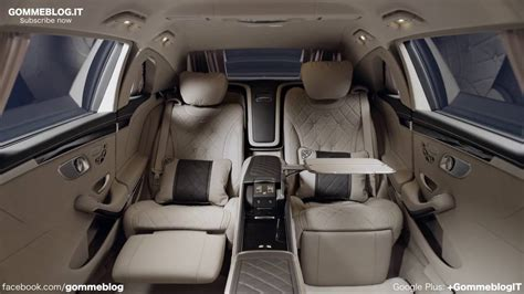The exterior and interior were developed in a completely new way. Mercedes Maybach S600 Pullman INTERIOR DESIGN - YouTube