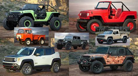 jeep safari concept easter jeep safari reveals seven concepts our favorite is
