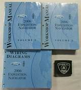 2007 Ford Expedition Navigator Service Shop Set Two Volume Setand The Wiring Diagrams