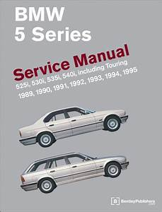 Bmw 5 Series  E34  Service Manual  19891995