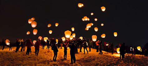sky lanterns  air balloons creating troubles