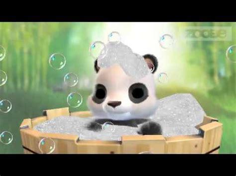 kleiner panda wuenscht dir ein schoenes wochenende youtube