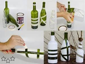 Decorar las botellas de vidrio - Javies com