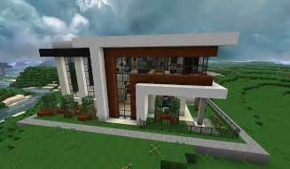 modern house with style minecraft build 3 minecraft house design