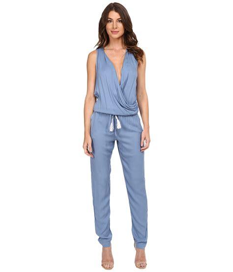 fabulous and jumpsuit fabulous cait jumpsuit chambray zappos com