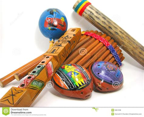 hispanic musical instruments royalty  stock