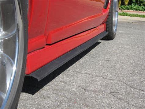 garage door liner lip rubber material car front spoiler lip 3m backed bumper protector buy car front spoiler lip