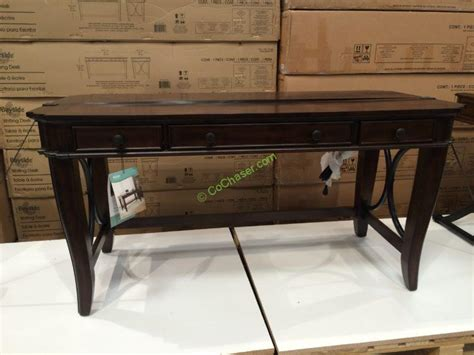 Bayside Furnishings 60 Writing Desk Costcochaser