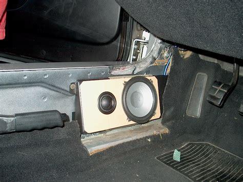 complete audio install write  hu amp speakers