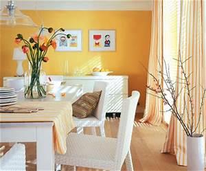 Farben Für Wände : wohnen mit farben perfekt f r orange wei kombinationen sch ner wohnen trendfarbe melone ~ Frokenaadalensverden.com Haus und Dekorationen