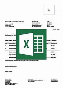 Rechnung Schreiben Excel : rechnungsvorlage privatperson ~ Themetempest.com Abrechnung