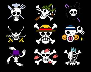 One PieCe PicTuRe : StraW HatS CreW JollY RoGerS