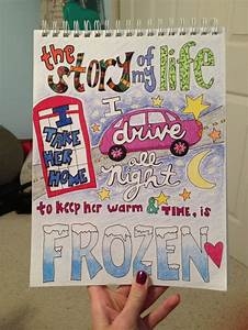 Cute One Direction Poster Ideas | My lyric drawing of ...