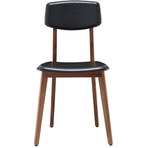 ligne roset marcello solid walnut dining chair nathan