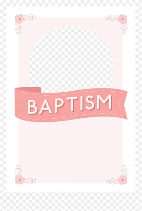 Library of image transparent for baptism invitations png