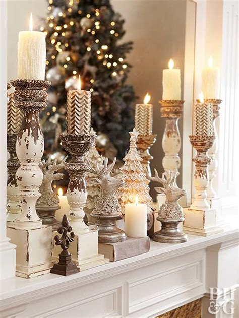holiday mantel decor  adore hadley court interior