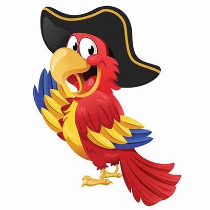 Pirate Parrot Clipart Transparent Clip Background Pirates