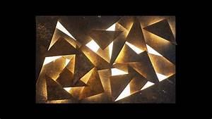 Decoration Lumineuse Murale : decoration murale lumineuse ~ Teatrodelosmanantiales.com Idées de Décoration
