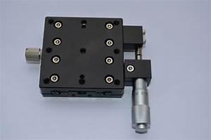 X Axis Lx60 R Precision Platform Micrometer Manual Fine