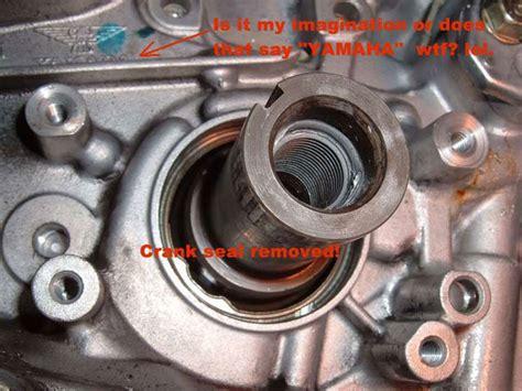 service manual   replace crankshaft seal