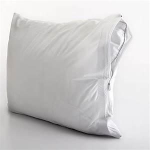 all in one pillow protector with bed bug blocker boscov39s With bed bug blocker pillow protector