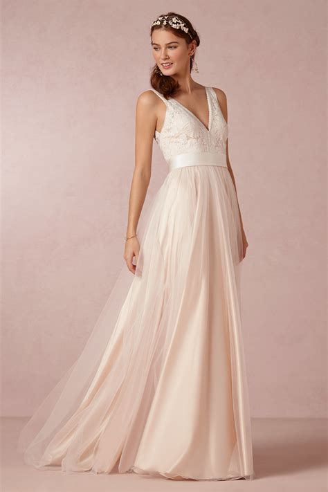 Bhldn Bhldn Tamsin Catherine Deane Size 6 Wedding Dress