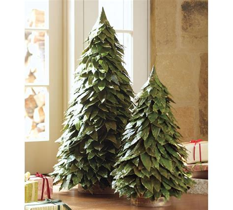 bay leaf trees holiday crafts and decorations pinterest