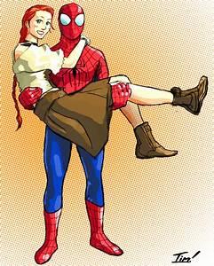 Spider-Man Loves Mary Jane by ninjaink on DeviantArt