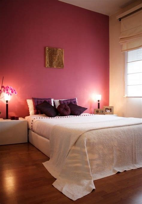 pink bedroom for adults pink bedroom interior design ideas with images founterior 16708 | Pink bedroom wall and white bed sheets