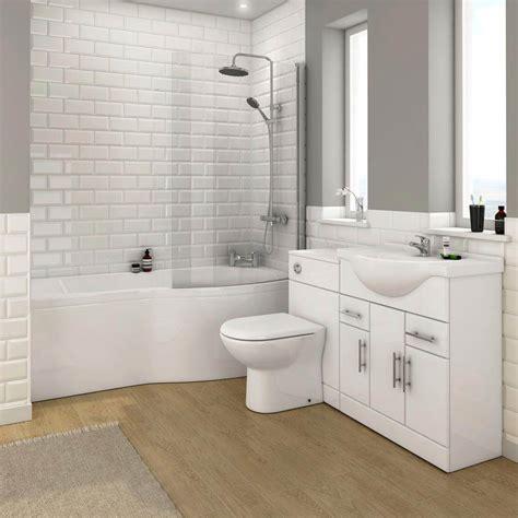 alaska bathroom suite   shaped shower bath