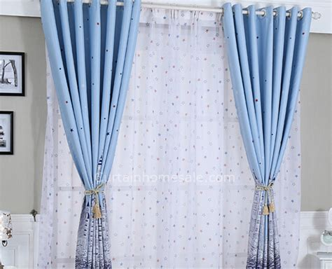 Blue Colored Ocean Style Kids Best Bedroom Window Shades And Curtains Purple Zebra Curtains Round Curtain Rings Light Gray Panels Silver Grey And Black Bamboo Blinds Panel Track System Best Clear Shower Angel