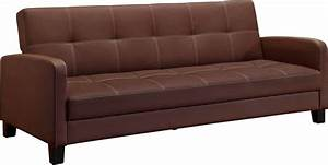DHP Delaney Sofa Sleeper Brown The Home Depot Canada