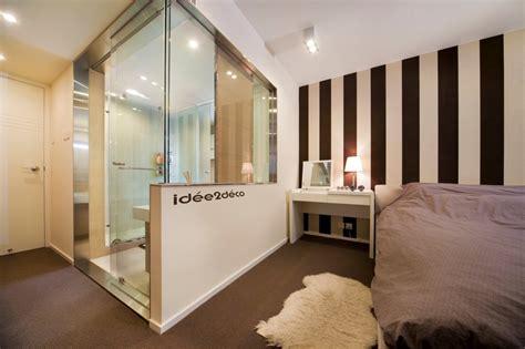 surface minimale pour une chambre idée déco pour une salle de bain dans une chambre